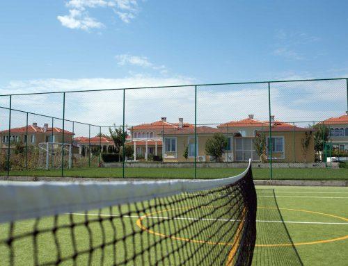 Виктория Резиденс ви кани на открита тренировка по тенис на корт